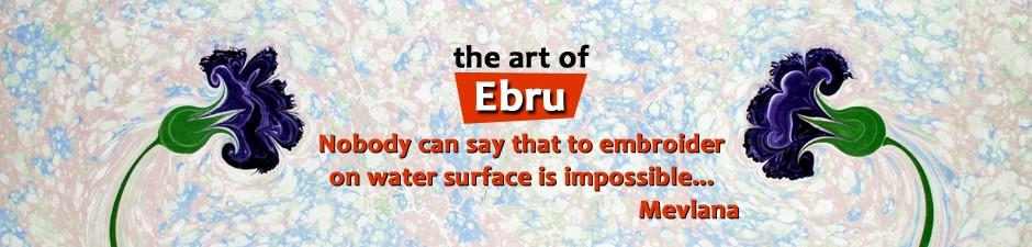 Ebru Sanatı 1